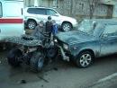 Бухой водила сбил 2-х детей в п.Кудряшовский